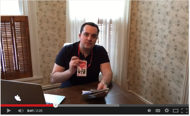 Pre- NYTF 2015 Video Message From ToyHypeUSA