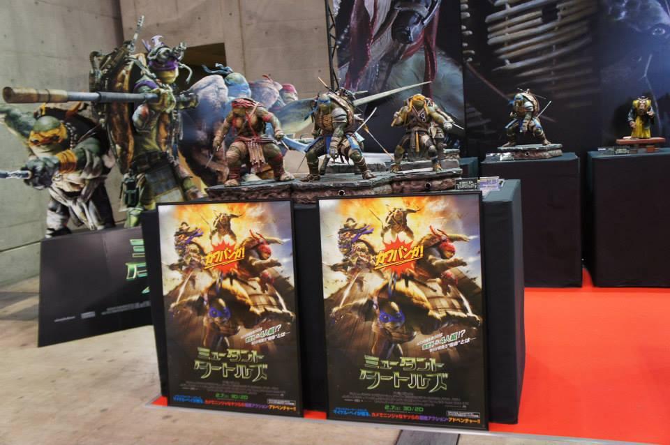 Prime 1 Studio Teenage Mutant Ninja Turtles Raphael, Donatello, & Splinter Statues
