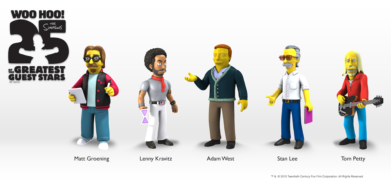 The Simpsons 25th Anniversary Wave 5 Action Figures Revealed