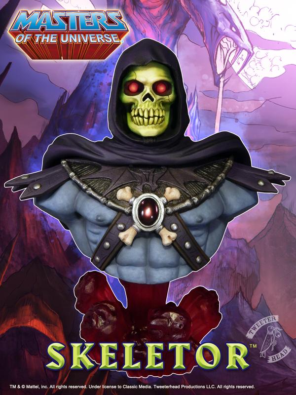Tweeterhead Announces New Skeletor Bust