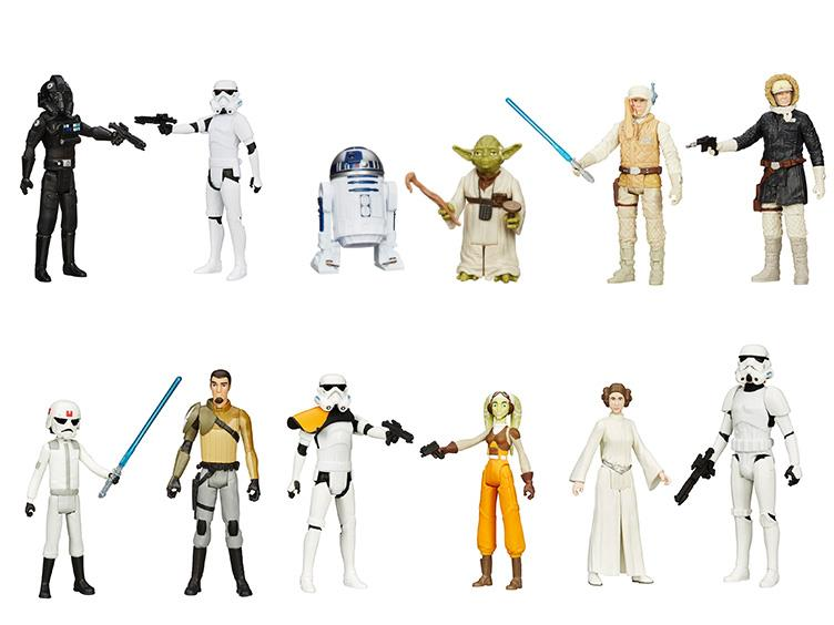 Hasbro Star Wars Mission Series 2-Packs Wave 3 Pre-Orders Now Available