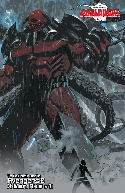Wishlist Wednesday – Marvel Legends Red Onslaught Build-A-Figure