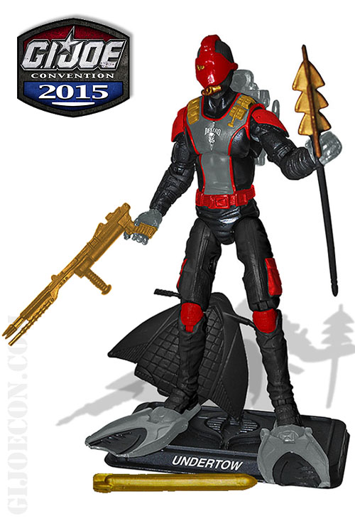 G.I. JoeCon 2015 Iron Grenadiers Frogmen: Undertow Figure Revealed