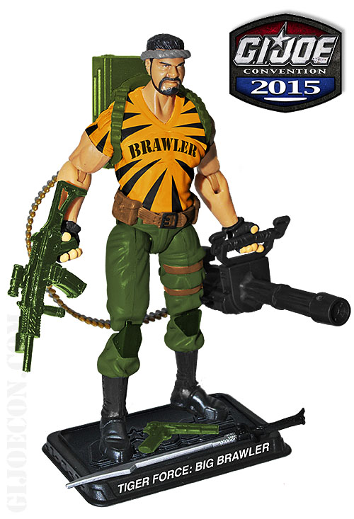G.I. JoeCon 2015 Tiger Force Heavy Weapons: Big Brawler Figure Revealed