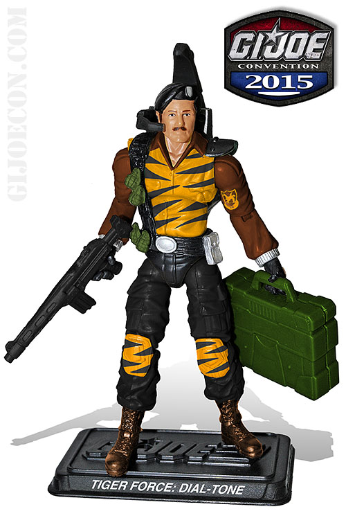 G.I. JoeCon 2015 Tiger Force Communications: Dial-Tone Figure Revealed