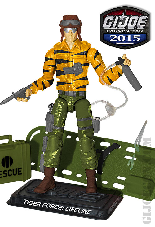 2015 GI Joe Joecon Tiger Force Kreo Kre-o Undertow Trooper Attendee Exclusive