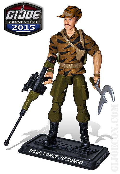 G.I. JoeCon 2015 Tiger Force Designated Marksman: Recondo Figure Revealed