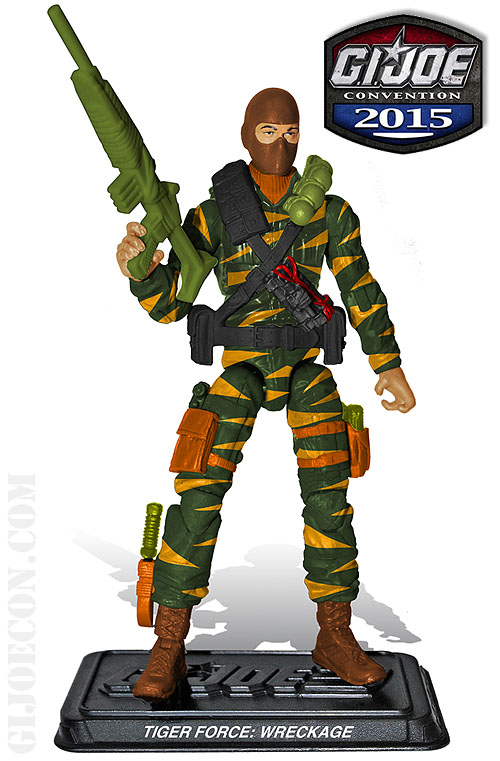 G.I. JoeCon 2015 Tiger Force Demolitions: Wreckage Figure Revealed