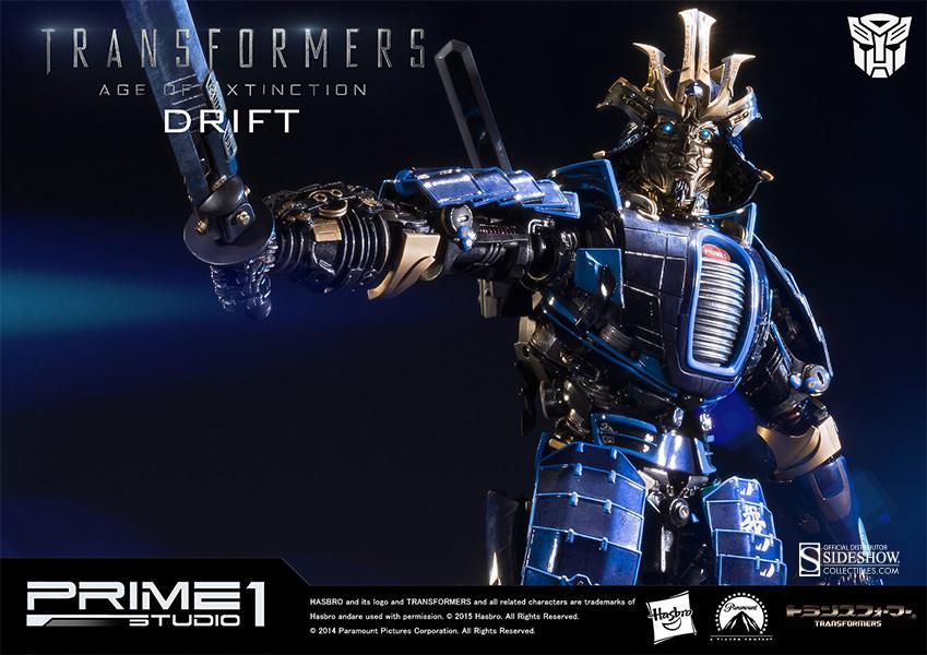Prime 1 Studio Transformers Drift Polystone Statue Pre-Orders