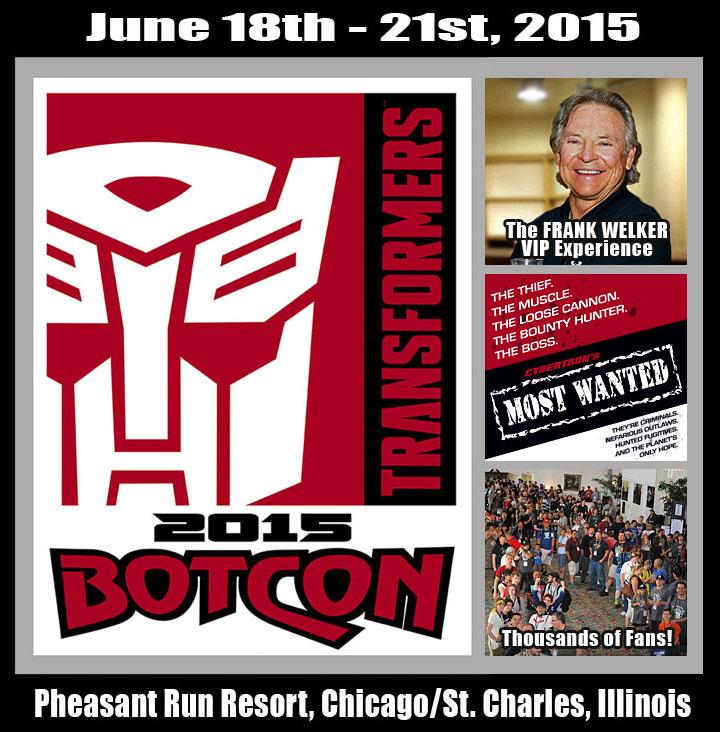 Legendary Transformers G1 Megatron Voice Actor Frank Welker To Attend BotCon 2015
