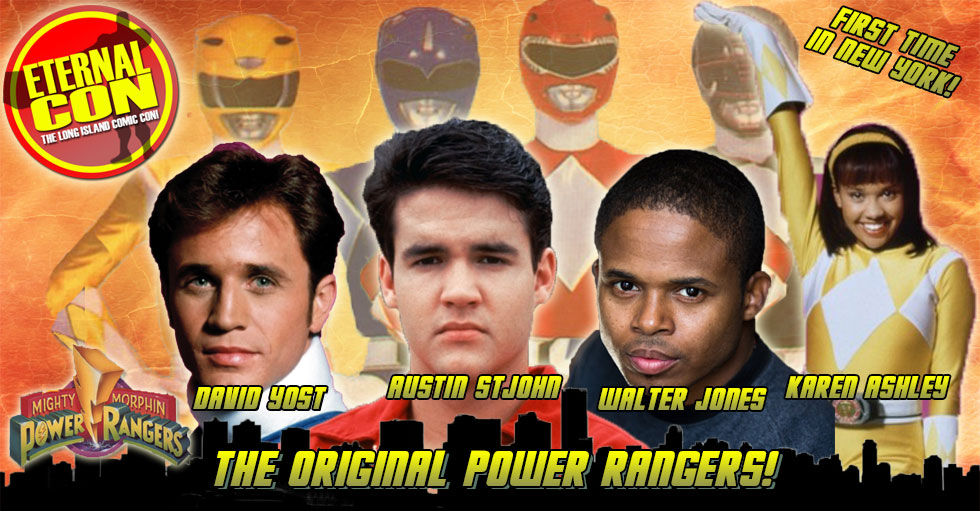 Eternal Con Reunites Original Power Ranger Cast For 2015