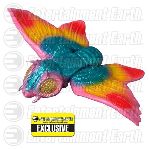 Godzilla Vinyl Wars Bullmark Mothra Sofubi Vinyl Figure – Entertainment Earth Exclusive