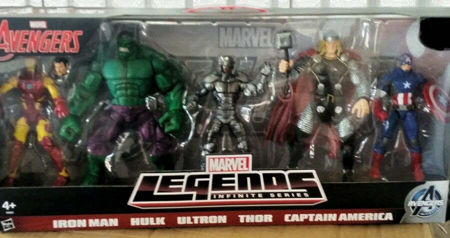 Hasbro Marvel Legends Infinite Series 5-Pack Set Planned?