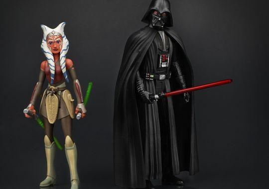 Hasbro Star Wars Rebels Ahsoka Tano & Darth Vader Confirmed As A 2-Pack