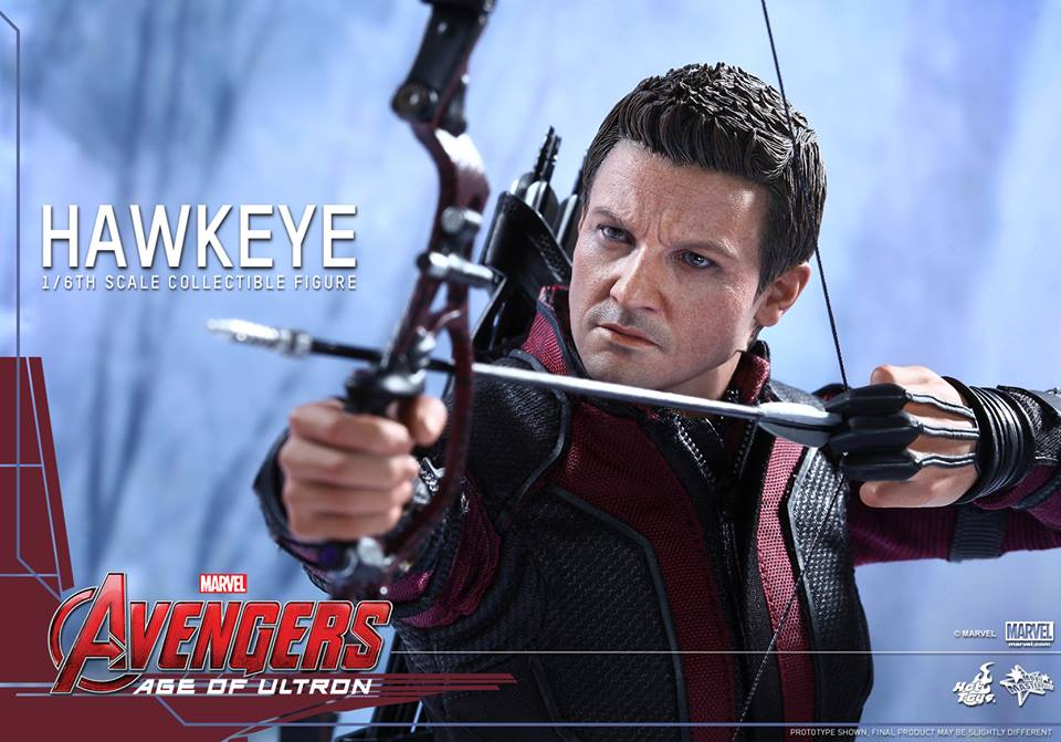 Hot Toys Avengers Age Of Ultron Hawkeye Sixth Scale Figure Pre-Orders