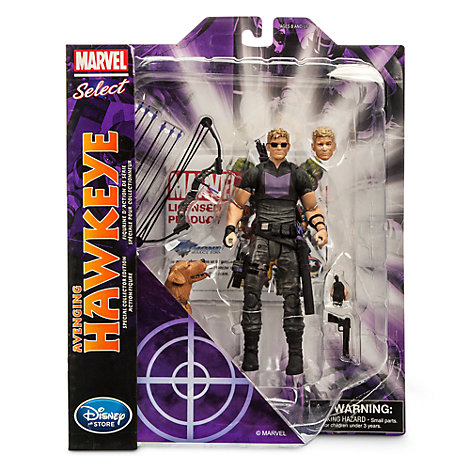 Marvel Select Avenging Hawkeye Figure Available Now At Marvel Shop