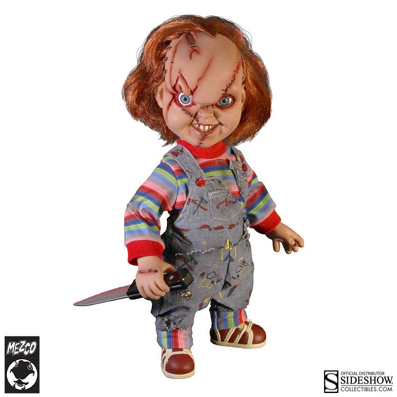 Mezco Toyz Childs Play Talking Chucky Collectible Figure