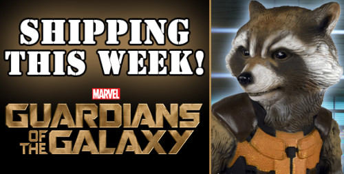 NECA Shipping Update: Guardians Of The Galaxy Full-Size Rocket Raccoon
