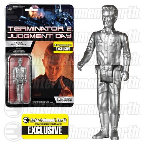 Funko Terminator 2 T-1000 Metallic ReAction 3 3/4-Inch Retro Action Figure – Entertainment Earth Exclusive