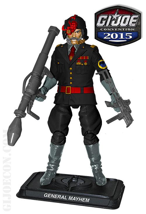 G.I. JoeCon 2015 Iron Grenadiers Infantry Commander: General Mayham Figure Revealed