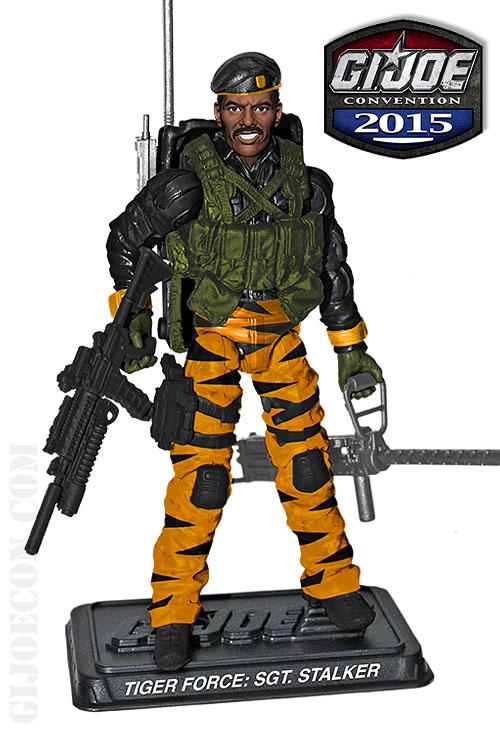G.I. JoeCon 2015 Tiger Force Ranger: SGT. Stalker Figure Revealed