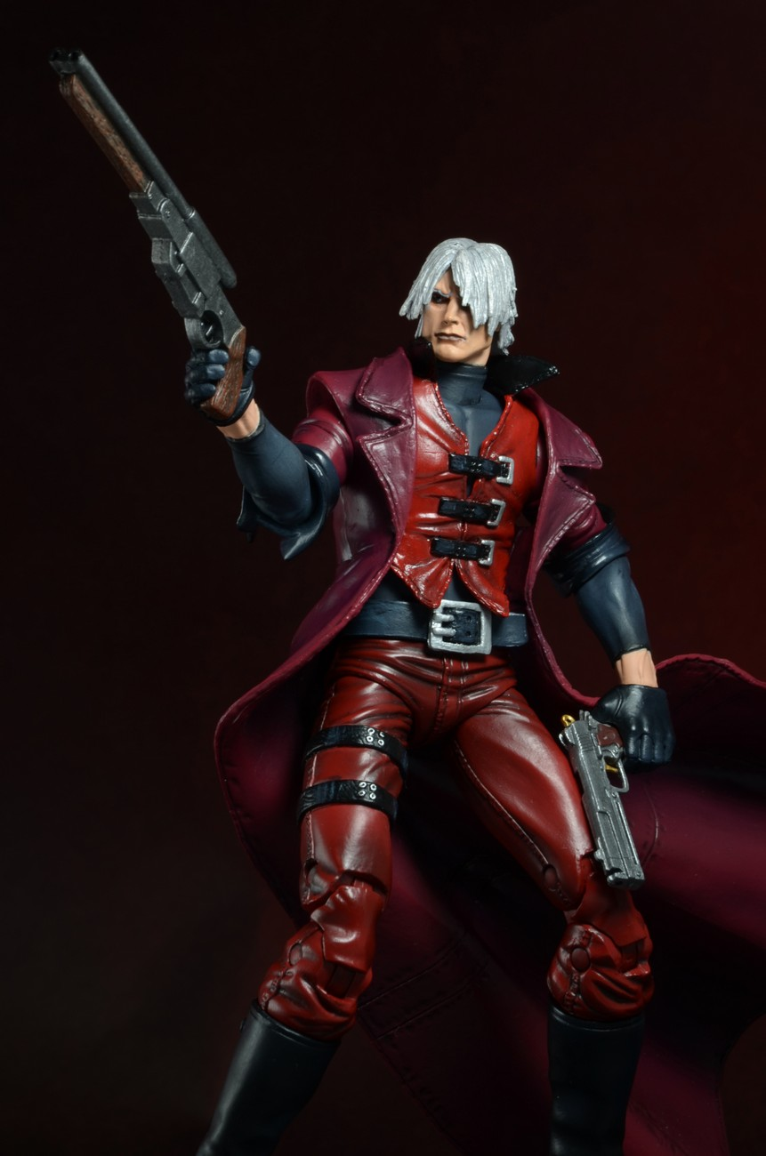 NECA Closer Look: Devil May Cry – Ultimate Dante 7″ Action Figure