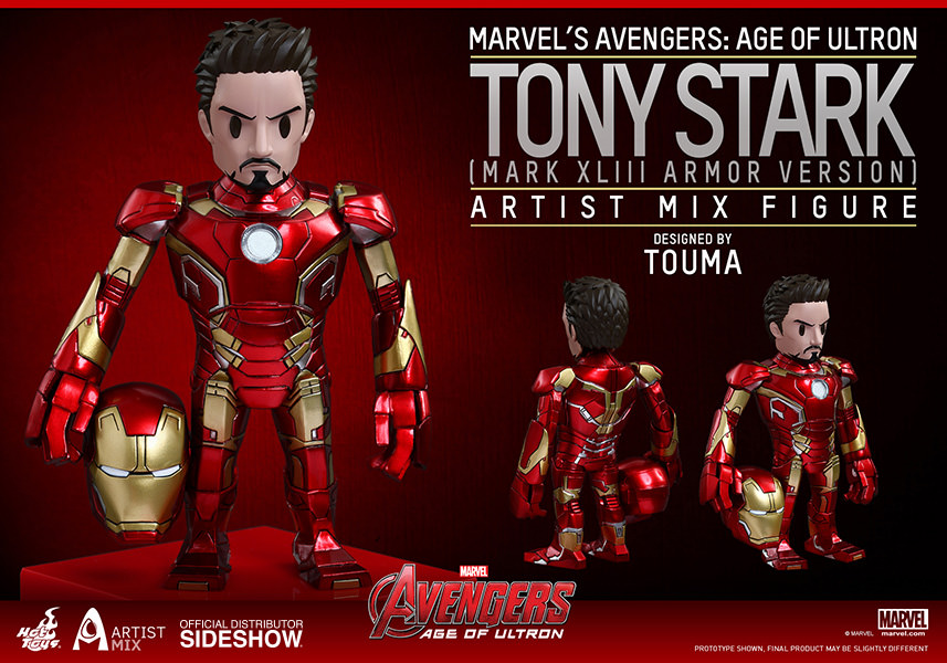 Hot Toys Tony Stark Mark XLIII Armor Version – Artist Mix Collectible Figure