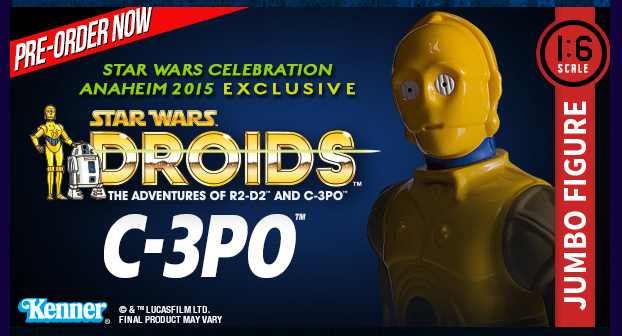 Gentle Giant Announces Star Wars Celebration 2015 Exclusives – C-3PO & General McQuarrie