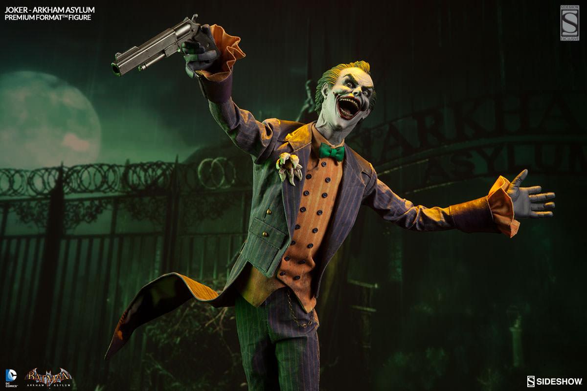 DC Comics Joker Arkham Asylum Premium Format Figure