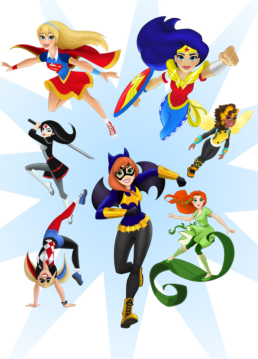 WB And DC Entertainment In Partnership With Mattel Launch 'DC Super Hero Girls'