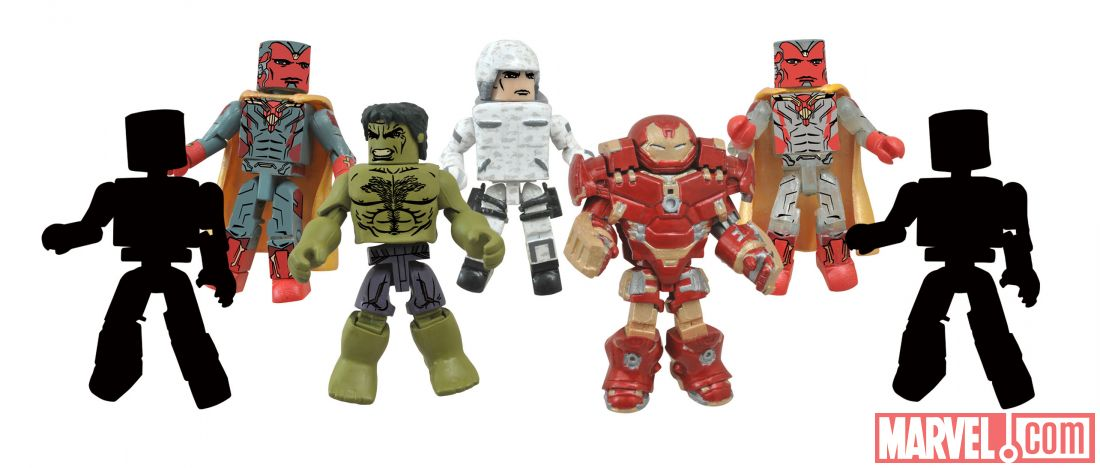 Diamond Select Toys Avengers: Age Of Ultron Minimates Wave 2 Preview