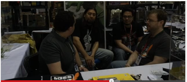 GI JoeCon 2015 – Video Bloopers With Boss Fight Studio