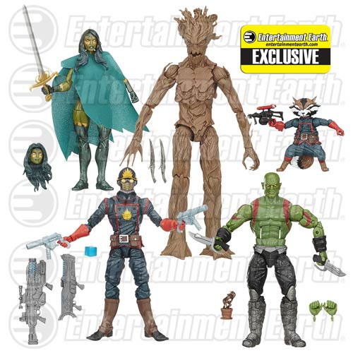 Guardians Of The Galaxy Comic Edition Marvel Legends Action Figure Set – Entertainment Earth Exclusive