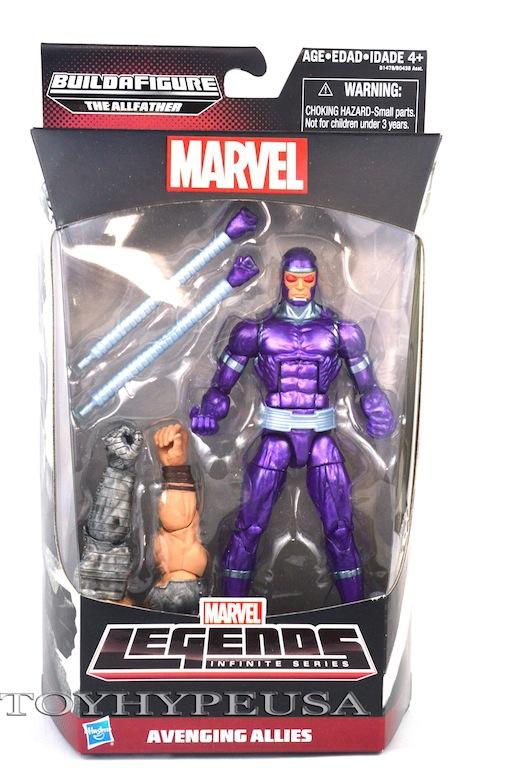 Hasbro Marvel Legends Avengers Infinite Series Machine Man Review