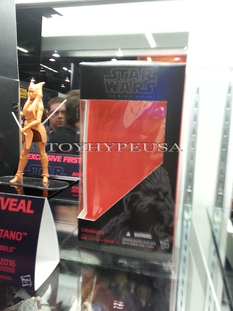 Hasbro Star Wars The Black Series 6″ Ahsoka Tano Packaging Shots