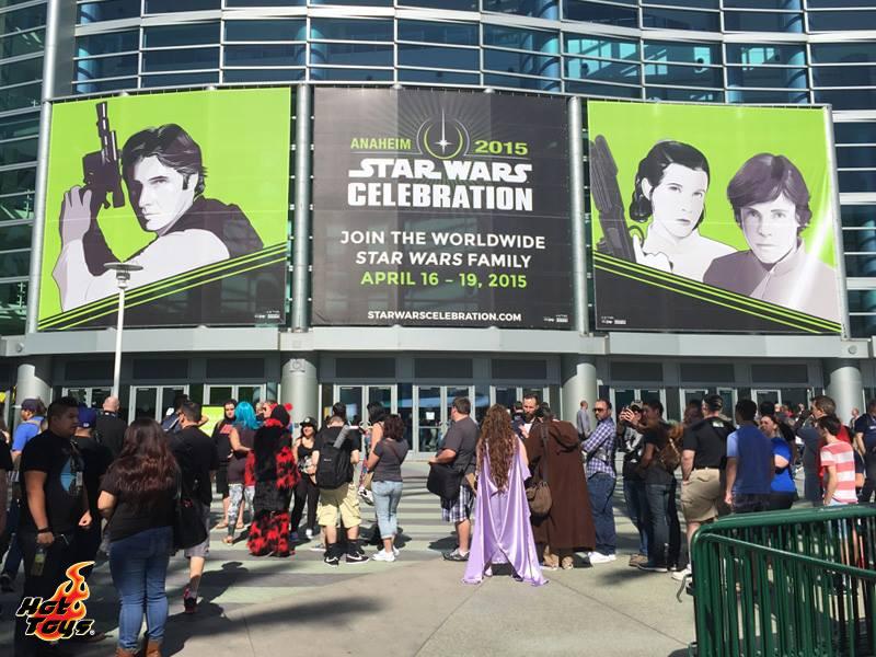 Hot Toys At Star Wars Celebration Anaheim 2015
