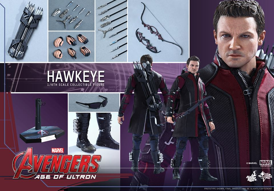 Hot Toys Avengers Age Of Ultron Hawkeye Sixth Scale Figure Revealed