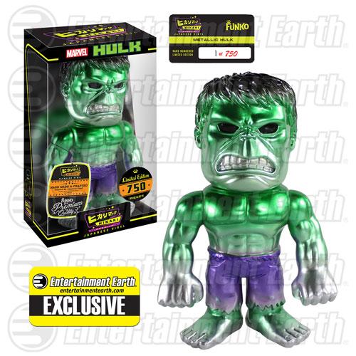Funko Hikari Friday Reveals – EE Exclusive Hulk Metallic & Astro Boy Distressed Figures