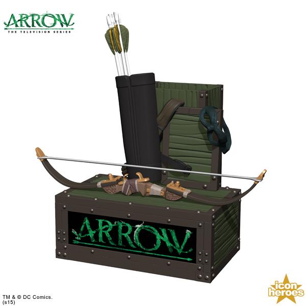 Icon Heroes Announces Arrow TV Pen & Paper Clip Holder
