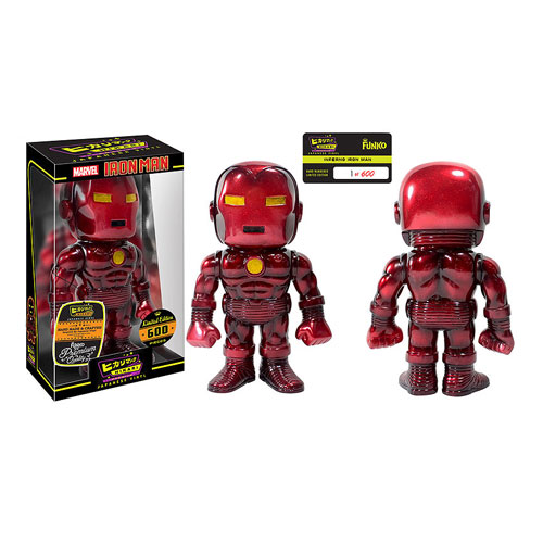 Funko Hikari Reveal – Iron Man Inferno Hikari Premium Sofubi Vinyl Figure
