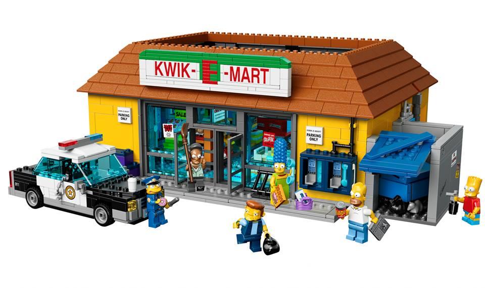 LEGO The Simpsons – Visit The Kwik-E-Mart Set Revealed