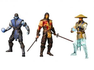 Mortal Kombat X 6 inch Figure Series 01 - Set of 3 Variant PX Previews Exclusive