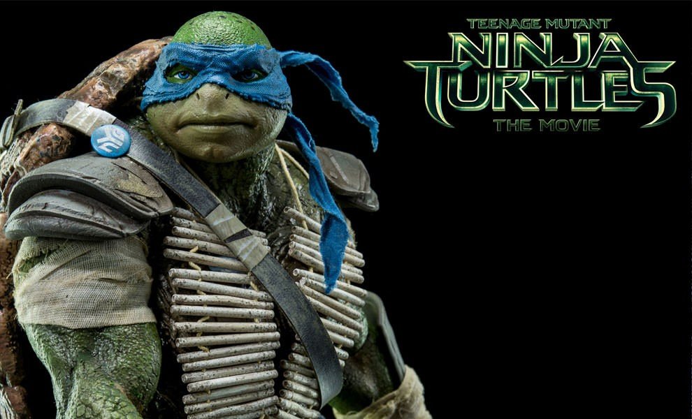 Teenage Mutant Ninja Turtles Movie Leonardo & Michelangelo Sixth Scale Figures