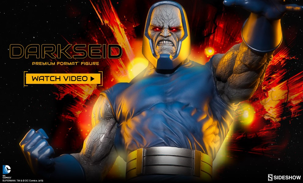 Darkseid Premium Format Figure Preview