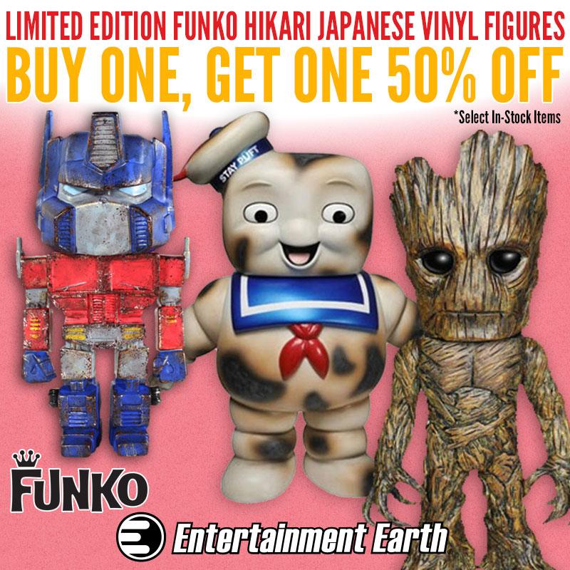 Entertainment Earth Bogo Sale – Funko Hikari Buy 1, Get 1 At 50% Off