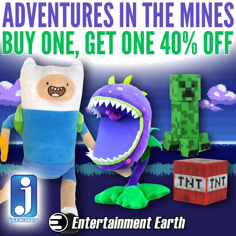 Entertainment Earth Launches Kidrobot & Jazwares BOGO Sales