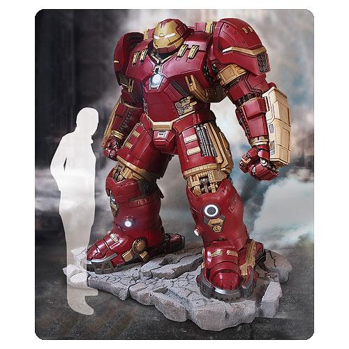 Avengers: Age Of Ultron Iron Man Hulkbuster 1:1 Scale Life-Size Light-Up Statue