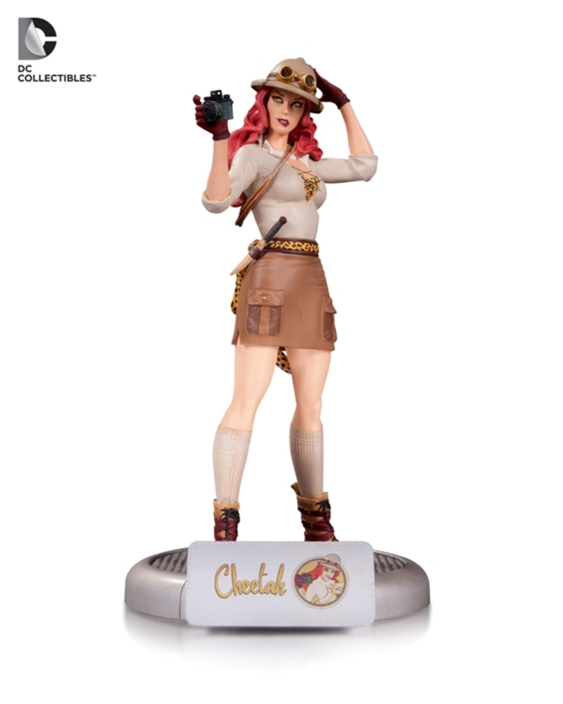 DC Collectibles Bombshells Cheetah & Killer Frost Statues Announced