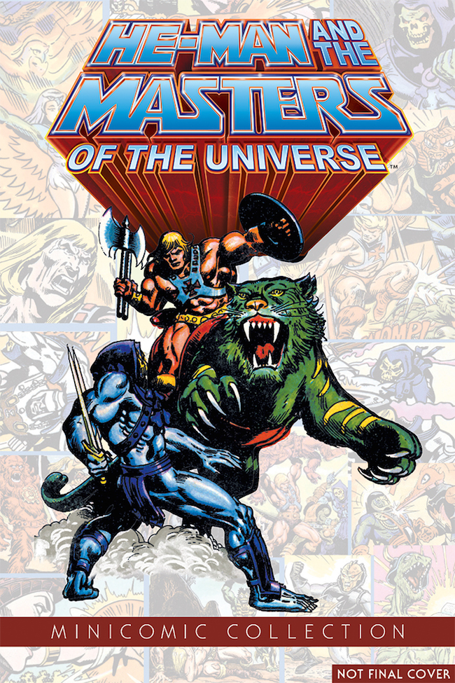 Dark Horse To Publish 'He-Man And The Masters Of The Universe Minicomic Collection'