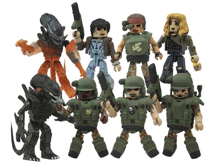 Diamond Select Toys Aliens Minimates Series 2 Set For $12 On Entertainment Earth